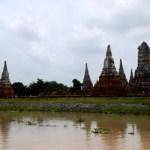 Fotos de Tailandia - crucero desde Ayutthaya, templos