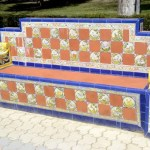 Fotos de Talavera de la Reina, banco de azulejos