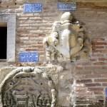 Fotos de Talavera de la Reina, escudos Basilica de Nuestra Señora del Prado