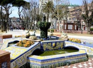 Fotos de Talavera de la Reina, fuente y jardines del prado