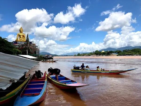 Fotos de Triangulo de Oro en Tailandia, Mekong