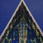 Fotos de Tromso en Laponia Noruega, catedral de hielo