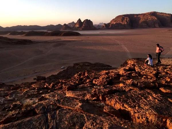 Fotos de Wadi Rum, Jordania - desierto al atardecer