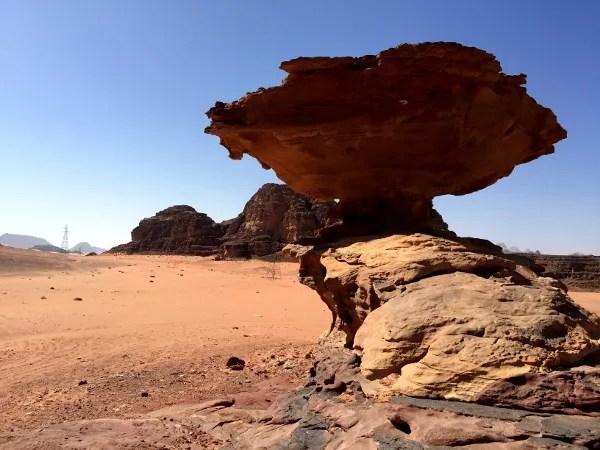 Fotos de Wadi Rum, Jordania - formacion rocosa