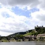Fotos de Wurzburgo en Alemania, Puente y fortaleza Marienberg