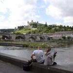 Fotos de Wurzburgo en Alemania, pareja