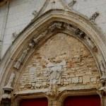 Fotos de la Isla de Re, portada de la iglesia de Saint-Martin de Ré