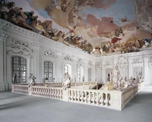Fotos de la Residencia de Wurzburgo, frescos de Tiepolo