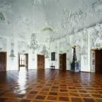 Fotos de la Residencia de Wurzburgo, suelo de madera