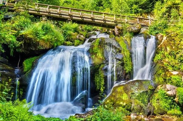 Fotos de la Selva Negra en Alemania, cascada de Triberg