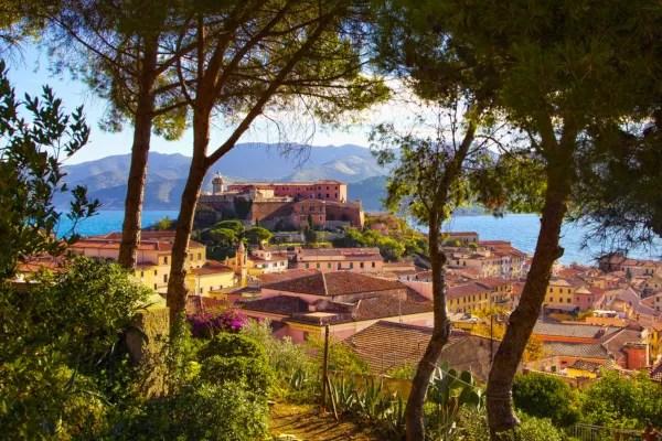 Fotos de la isla de Elba en Italia, Portoferraio