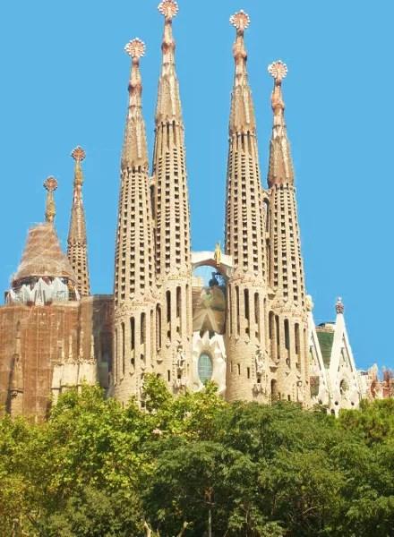 Fotos de los lugares más populares de España, Sagrada Familia de Barcelona