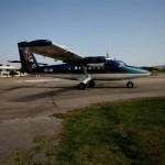 Fotos de saltos en paracaidas en Empuriabrava, avion