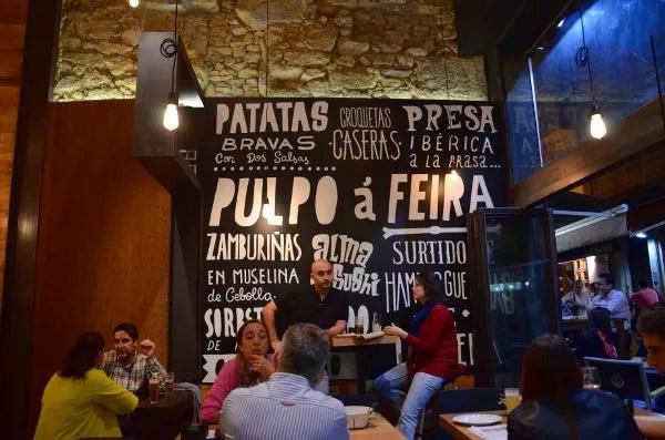 Fotos de tapas por A Coruña