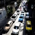 Fotos de transportes de Bangkok, taxis