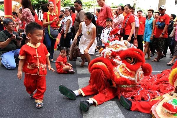 Fotos de viajes a Tailandia con niños y Naaî Travels, China Town