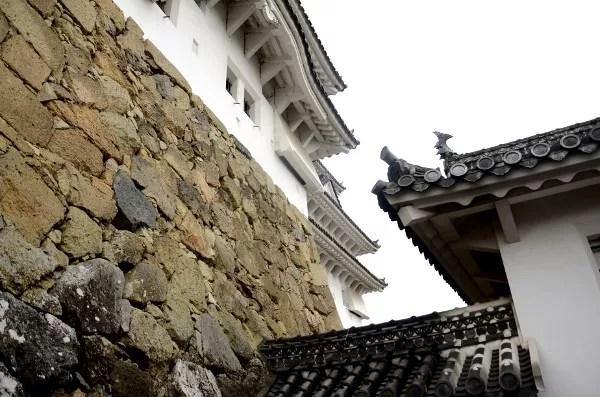 Fotos del Castillo de Himeji en Japón, torres