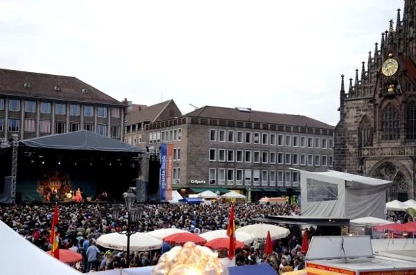 Fotos del Festival de Bardos de Nuremberg, escenario principal