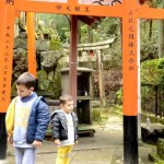 Fotos del Fushimi Inari de Kioto, Teo y Oriol