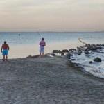 Fotos del Mar Menor en Murcia, atardecer en Los Alcazares