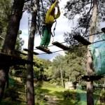 Fotos del Valle del Jerte, Parque Aventura Teo arboles