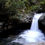 Fotos del Valle del Jerte en Caceres. Cascada sedosa Ruta de las Nogaledas
