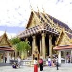Fotos del Wat Phra Kaew y el Gran Palacio de Bangkok, both