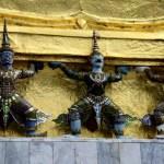 Fotos del Wat Phra Kaew y el Gran Palacio de Bangkok, estatuas