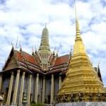 Fotos del Wat Phra Kaew y el Gran Palacio de Bangkok, estupas y edificios