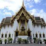 Fotos del Wat Phra Kaew y el Gran Palacio de Bangkok, pabellon