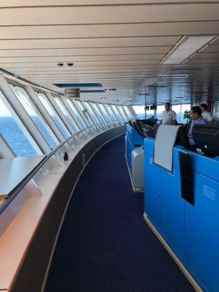 Fotos del crucero Rincones Secretos del Mediterraneo de Pullmantur, puente de mando