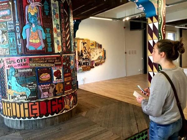 Fotos del museo MIMA de Bruselas, Faile