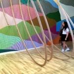 Fotos del museo MIMA de Bruselas, espirales de MOMO