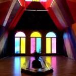 Fotos del museo MIMA de Bruselas, ventanas Maya Hayuk
