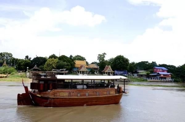 Fotos del viaje a Tailandia con niños, crucero fluvial