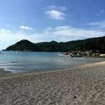 Fotos del viaje a Tailandia con niños, la playa de Koh Phangan