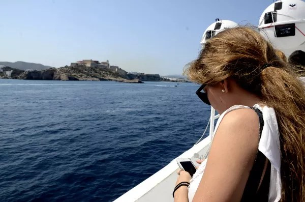Fotos ferry Valencia Ibiza Trasmediterranea, movil