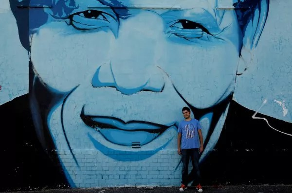 Fotos viaje a Sudáfrica, Pay y Mandela en Ciudad del Cabo