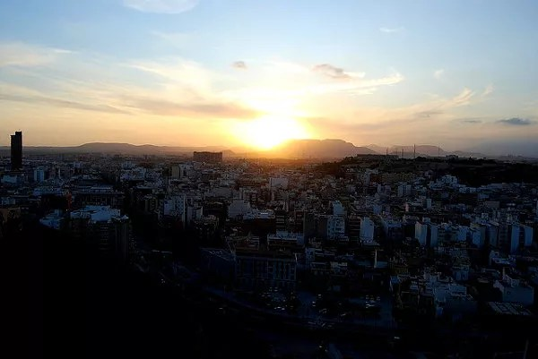Fotos de Alicante, atardecer
