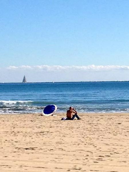 Fotos de Alicante, playa del Postiguet