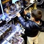 Fotos de Japon con niños, Oriol en Kiddy's Land