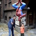 Fotos de Japon con niños, Pau y Teo en Universal Studios Japan