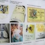 Fotos del Museo del Vino de Penafiel en Valladolid, etiquetas