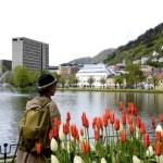 Fotos de Bergen en los Fiordos Noruegos, Lille Lungegardsvann