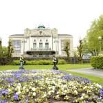 Fotos de Bergen en los Fiordos Noruegos, Teatro