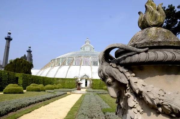 Fotos de Bruselas, Invernaderos Reales de Laeken
