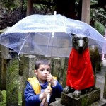 Fotos de Japon, Teo en el Fushimi Inari