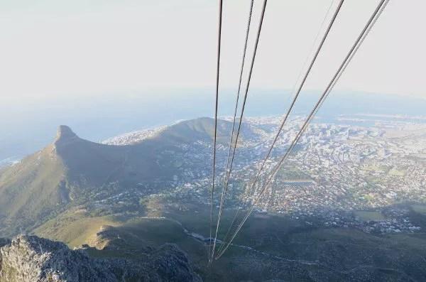 Fotos de Table Mountain en Ciudad del Cabo, vistas