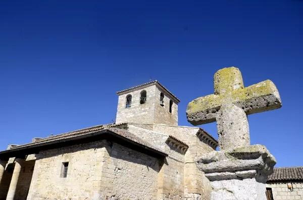 Fotos de Wamba en Valladolid, iglesia de Santa Maria, cruz
