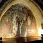 Fotos de Wamba en Valladolid, interior de la iglesia Santa Maria, pintura